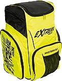 Extreme Winter Equipment Zaino da Sci Portascarponi, Nero Bianco Giallo Fluo, 60x34x50 cm