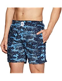 U.S. Polo Assn. Men's Printed Cotton Boxers (Colors May Vary)