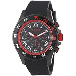 Redline RL-60057 - Reloj de pulsera hombre, Silicona, color Negro