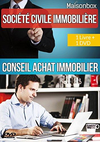 SCI LIVRE + 1 DVD de FORMATION Les cles pour s'enrichir sans payer d'impots