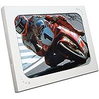 Exclusive Memorabilia Superbikes Foto Signiert von Carl Fogarty: Cornering. in Geschenkbox