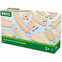Brio World  - 33402 - COFFRET EVOLUTION INTERMEDIAIRE -16 RAILS