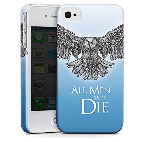Apple iPhone X Silikon Hülle Case Schutzhülle GOT Statement Game of Thrones Premium Case glänzend