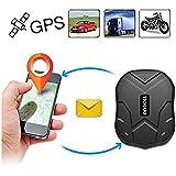 Gps tracker, Coche Carro Vehiculo GPS Localizador de Seguimiento en Tiempo Real de 150 dias de Tiempo en Espera con Iman Fuerte Diebstahlschutzl en un Global GPS Tracker con Free App (tk905b)