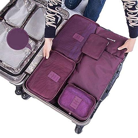 Travel Organisers Essential Bags-in-Bag Travel Storage Waterproof Nylon Drawstring Dry