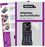 dipos I 2X Schutzfolie klar passend für bea-fon SL240 Folie Displayschutzfolie