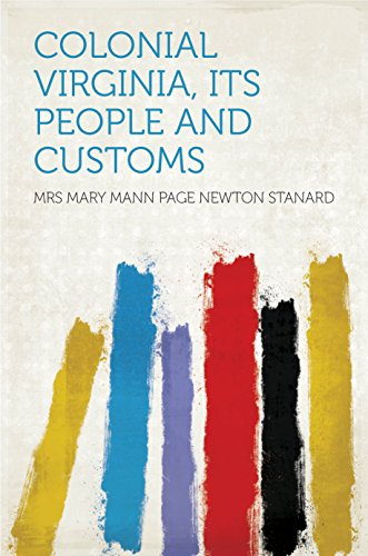 ts People and Customs (Colonial Mann)