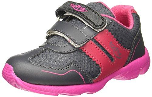 Footfun (from Liberty) Unisex Pink Sneakers - 12 kids UK/India (31 EU)