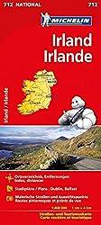 Michelin Irland: Straßen- und Tourismuskarte (MICHELIN Nationalkarten)