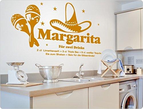 dekodino Wandtattoo Cocktail Rezept Margarita