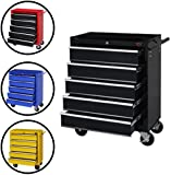 Dirty Pro ToolsTM LARGE 5 DRAWER ROLLCAB GARAGE PROFESSIONAL TOOL CHEST BOX WITH US BALL BEARING SLIDES DRAWERS