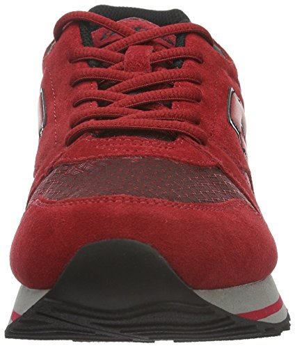 Ny Homens Lotto vermelho Der Sneakers Instrutor Red Preto Viii wqgrxIUTq