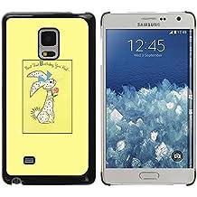 DEMAND-GO Smartphone Noir Bord Protection Rigide Fine Coque Housse Unique Image Pour Samsung Galaxy Mega 5.8 9150 9152 - Halloween araignée cadre de texte web