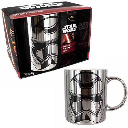 Star Wars Episodio VII - Tazza cromato capitano Phasma