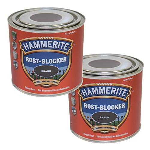 Hammerite  <strong>Staubtrocken nach ca.</strong>   15 min