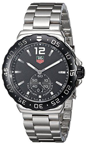 TAG Heuer Herren-Armbanduhr Analog Quarz Edelstahl WAU1110.BA0858