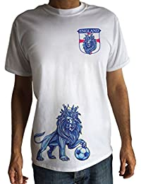 Camiseta de Hombre England Shield Lion King Camiseta de Fútbol Crown Imprimir TS1427