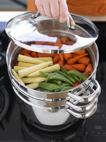 Prestige ollas para cocinar al vapor for Cocinar almejas al vapor