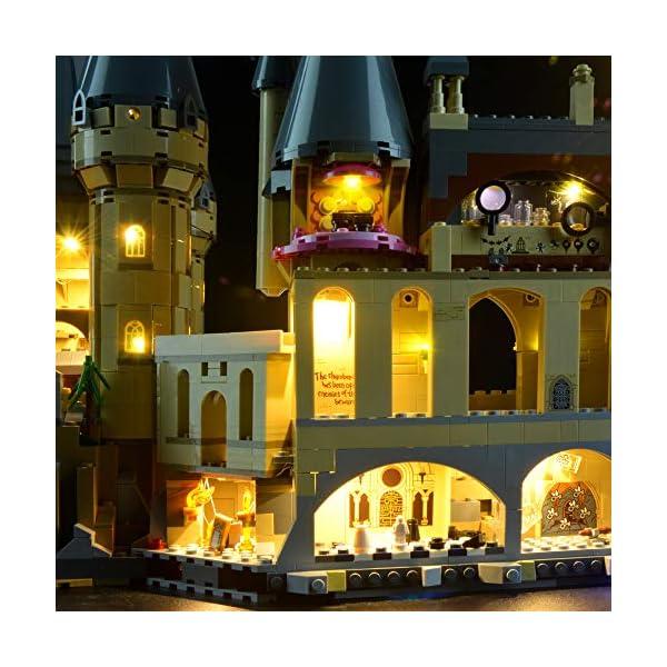 Lightailing Set di Luci per (Harry Potter Castello di Hogwarts) Modello da costruire - Kit luce led compatibile con Lego… 4 spesavip