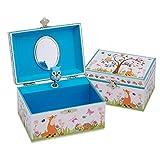 Lucy Locket \'Woodland Animals\' Children\'s Musical Jewellery Box - Kids Jewellery Box