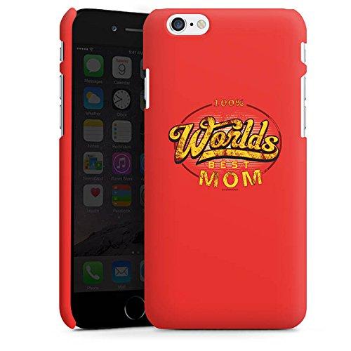 Apple iPhone X Silikon Hülle Case Schutzhülle Worlds Best Mom Muttertag Mama Premium Case matt