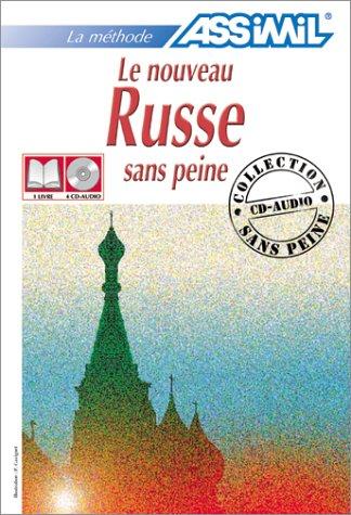 Le Nouveau Russe sans peine (1 livre + coffret de 4 CD)