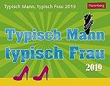 Typisch Mann, typisch Frau - Kalender 2019 - Harenberg-Verlag - Tagesabreisskalender - 14 cm x 11 cm
