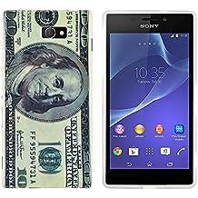 gada - Sony Xperia M2 S50H -TPU funda de protección en un diseño elegante - Billete de 100$
