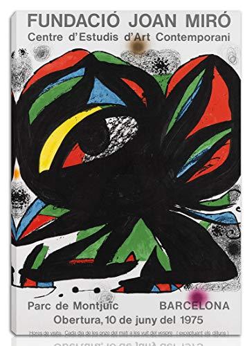 Berkin Arts Joan Miro Gedehnt Giclee Auf Leinwand drucken-Berühmte Gemälde Kunst Poster-Reproduktion Wand Dekoration Fertig zum Aufhängen(Kunstwissenschaft)#NK
