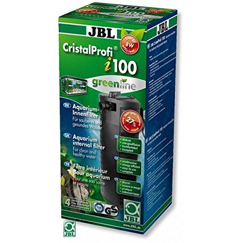 JBL CristalProf i100 greenline 6097300 Energieeffizienter Innenfilter für Aquarien mit 90-160 L