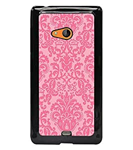 PrintDhaba Pattern D-2133 Back Case Cover for MICROSOFT LUMIA 540 (Multi-Coloured)