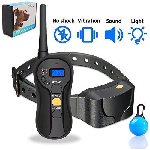 collare per cani Dog Training collare con telecomando ricaricabile e 100% impermeabile
