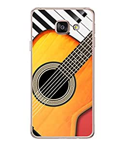 PrintVisa Designer Back Case Cover for Samsung Galaxy A3 (6) 2016 :: Samsung Galaxy A3 2016 Duos :: Samsung Galaxy A3 2016 A310F A310M A310Y :: Samsung Galaxy A3 A310 2016 Edition (Music Drums Dance Sound Volume Trump)