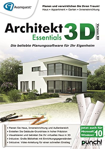 Architekt 3D X8 Essentials [PC Download]