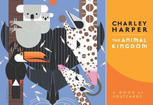 Charley Harper the Animal Kingdom Book of Postcards AA633: The Animal Kingdom (Books of Postcards)