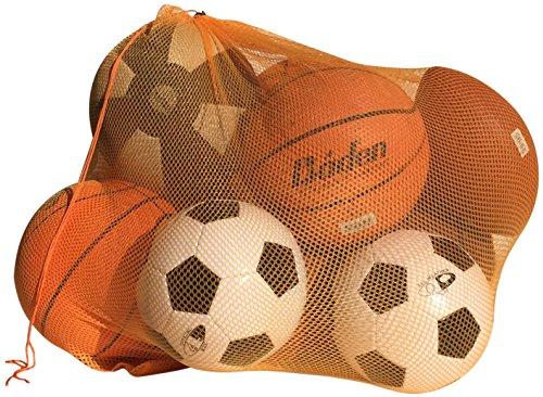 NewEarthProducts Mesh Sport Ausrüstung Tasche, Set von 2Staubbeutel (Orange, 36x 24)