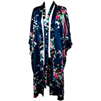 CCCollections kimono night dress 16 colours dressing gown robe lingerie night wear dress bridesmaid hen night