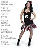 Piratin Black Rose 1tlg. Damenkostüm Größen: 42