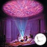 Colorfulworld® LED Mood Light Music ocean-wave Projektorlampe Aurora Romantische Deckenleuchte Nacht Projektor Licht 7 Farben Farbwechsel