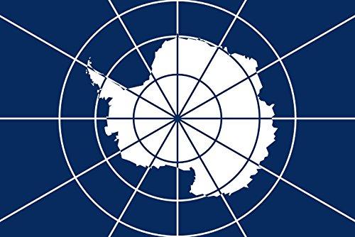 Antarctic Treaty | Tratado Antártico Bandiera 20x30cm per Diplomat-Flags Bandiere per Auto