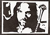 moreno-mata Aragorn Herr der Ringe (The Lord of The Rings) Handmade Street Art - Artwork - Poster
