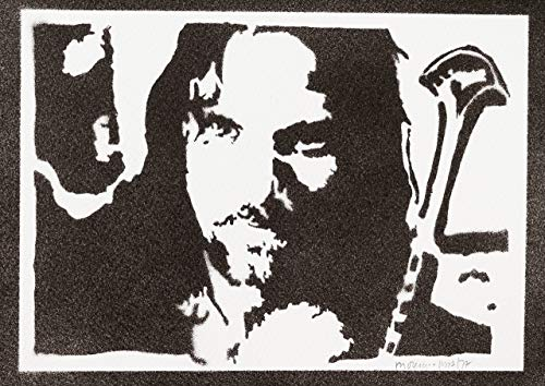 moreno-mata Aragorn Herr der Ringe (The Lord of The Rings) Handmade Street Art - Artwork - Poster