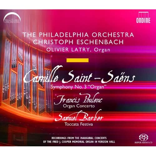 Poulenc, Saint-Saëns & Barber: Works for Organ & Orchestra