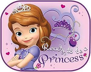 Disney 2 Rideaux Pare-Soleil Princesse Sofia Rose