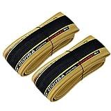 Vittoria Corsa Control G2.0 700x28C Clincher Bicycle Tire 320TPI, Skinwall and Black, 2 Tire, VT1825