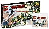 LEGO Ninjago 70612 - Mech Drache des Grünen Ninja 30428 Grüner Ninja Mech Drache Ninjago Movie Polybag, Unterhaltungsspielzeug