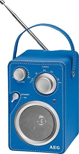 AEG Mr 4144Radio Mono Bleu