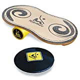 RollerBone softpad classic 1 set-balance board comme indoboard, homerider daffy board, pour le fitness