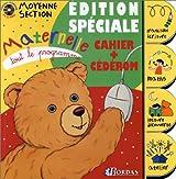 TOUT LE PROGRAMME MATERN. MS AVEC CD    (Ancienne Edition)