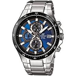 Casio Reloj Analógico de Cuarzo para Hombre con Correa de Acero Inoxidable – EFR-519D